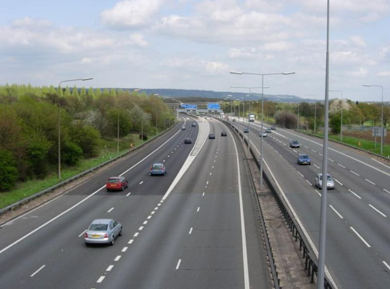 Noye killed Mr Cameron on a slip road on the M25 in Kent (Geograph/stock photo)