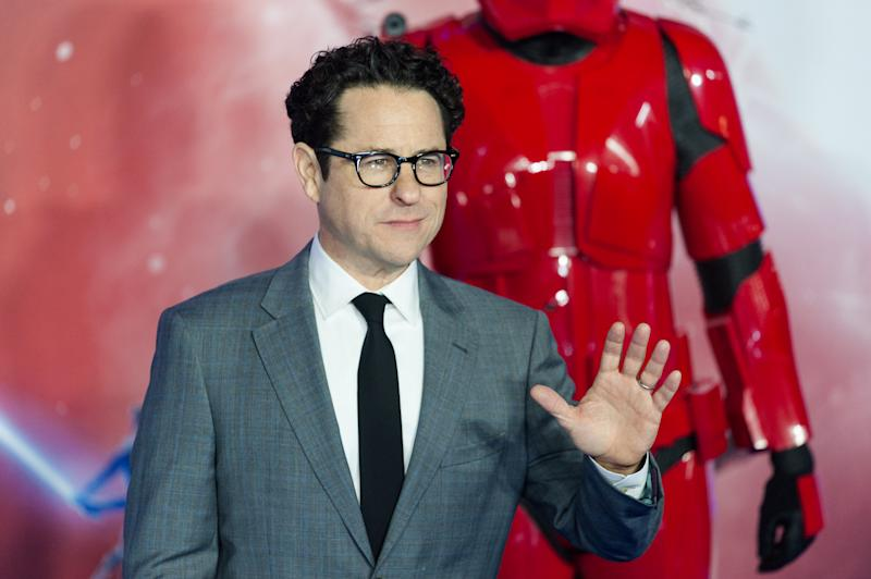 J.J. Abrams attends the European film premiere of 'Star Wars: The Rise of Skywalker' on 18 December 2019. (Credit: Wiktor Szymanowicz/Barcroft Media via Getty Images)