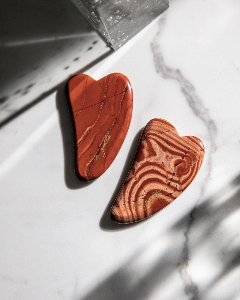 "25 Unexpected Ways To Say ""I Love You"" this Valentine's Day, La Gotta Red Agate Gua Sha"