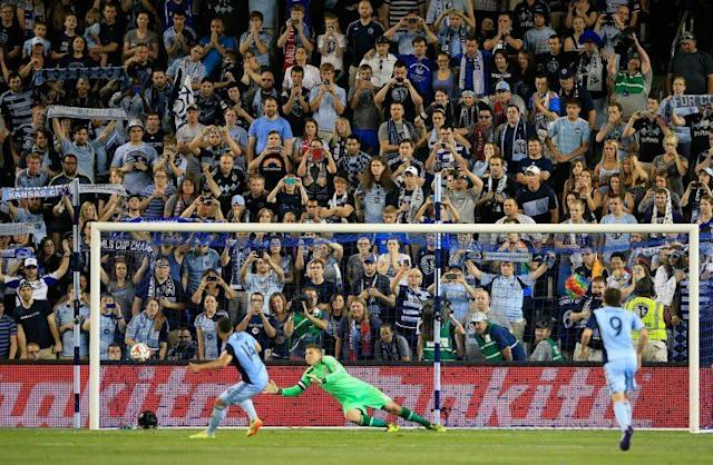 At its new home, Children's Mercy Park (formerly Sporting Park), Kansas City has sold out every MLS home game since April 7, 2012. (Getty)
