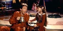 "<p>The official unofficial king of Christmas, Tim Allen, dons the big man's belly to play Scott Calvin, a workaholic toy salesman who's about to take his work to the North Pole. After Santa falls off his roof one Christmas Eve, Scott is magically tasked with the man in red's seasonal duties, and thus the adventure—and cookie binging—begins. <a class=""link rapid-noclick-resp"" href=""https://www.amazon.com/Santa-Clause-Tim-Allen/dp/B00D6098R2?tag=syn-yahoo-20&ascsubtag=%5Bartid%7C10056.g.13152053%5Bsrc%7Cyahoo-us"" rel=""nofollow noopener"" target=""_blank"" data-ylk=""slk:Watch Now"">Watch Now</a><br></p>"