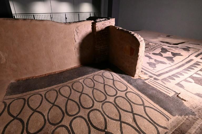 The Roman 'domus', or home, dates from between the first century BC to the second century AD