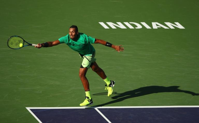 Nick Kyrgios beats Novak Djokovic for the second time in as many weeks and books an Indian Wells quarter-final berth