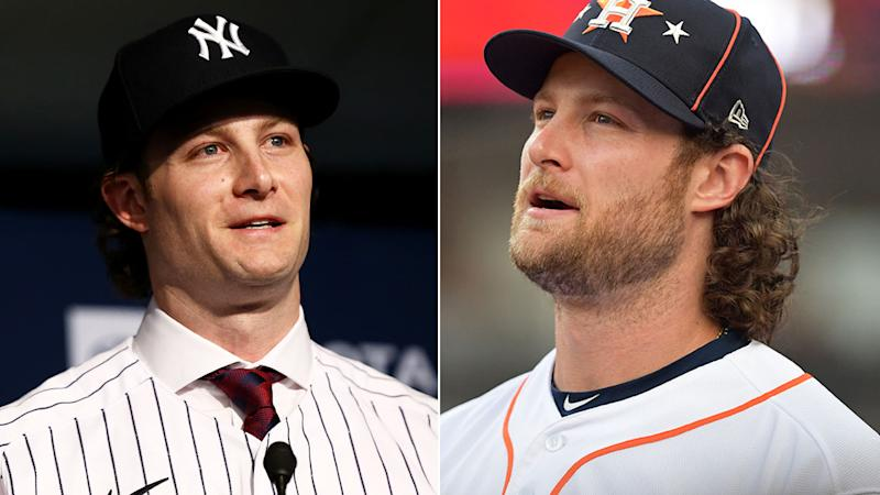 Gerrit Cole was happy to ditch the beard after his record deal with the New York Yankees.
