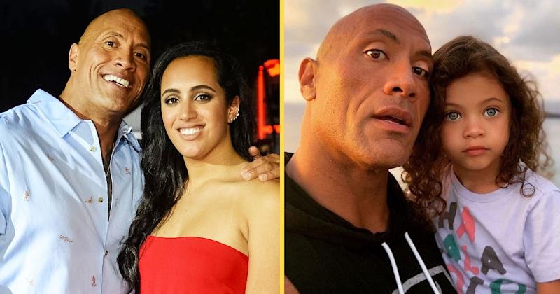 The Rock Posts Sweet Tributes To All 3 Of His Daughters For Women's Day