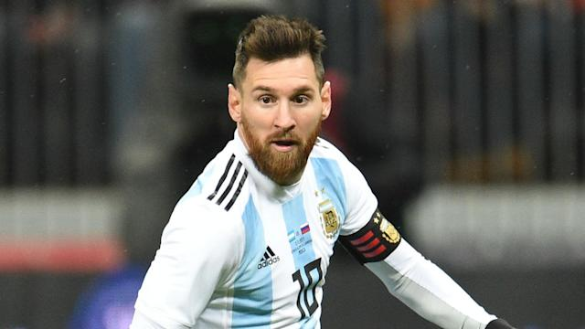 Argentina have confirmed the Barcelona star has joined up with the squad ahead of the World Cup