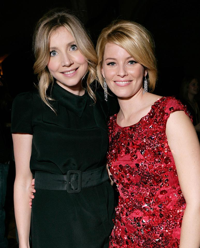 "<a href=""http://movies.yahoo.com/movie/contributor/1800188817"">Sarah Chalke</a> and <a href=""http://movies.yahoo.com/movie/contributor/1807816351"">Elizabeth Banks</a> at the Los Angeles premiere of <a href=""http://movies.yahoo.com/movie/1809958867/info"">Zack and Miri Make a Porno</a> - 10/20/2008"