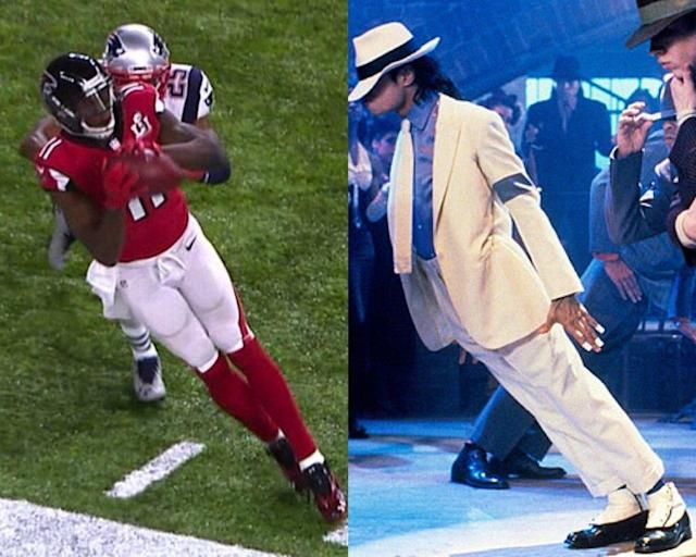 <p>Julio Jones al estilo de Michael Jackson. </p>