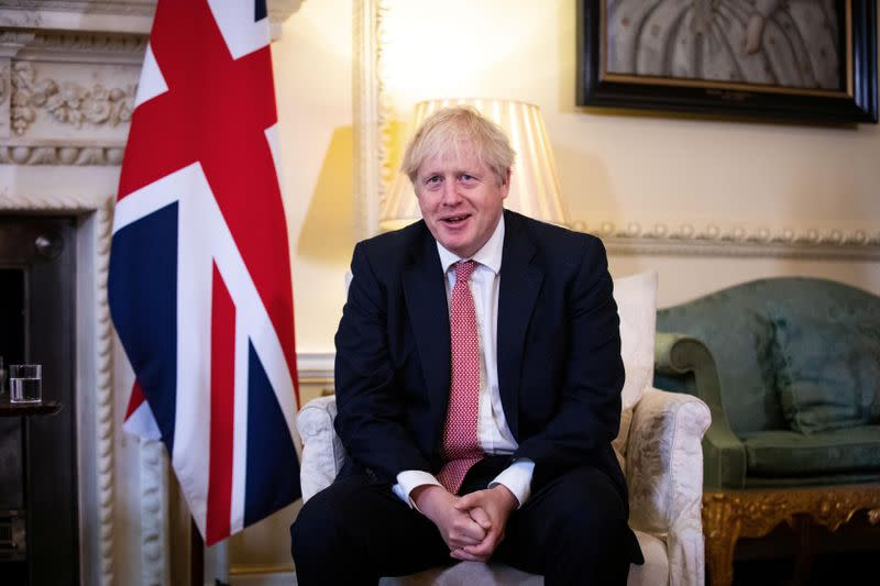 PM Johnson wishes Trump well in COVID recovery - spokesman