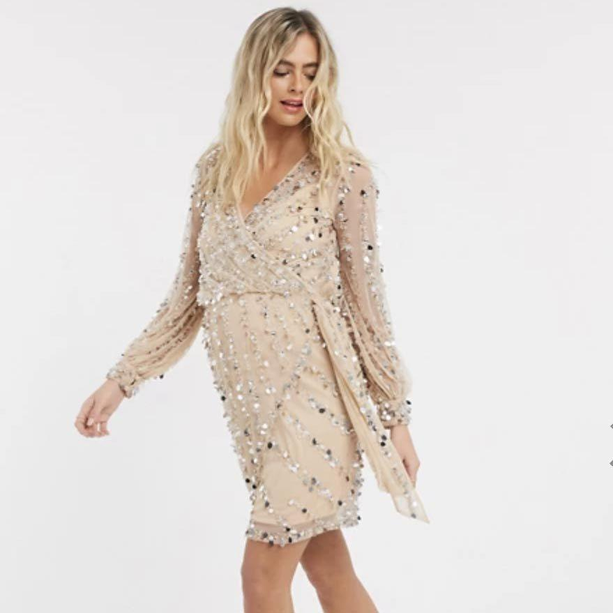 """<p><a class=""""link rapid-noclick-resp"""" href=""""https://go.redirectingat.com?id=74968X1596630&url=https%3A%2F%2Fwww.asos.com%2Fus%2Fwomen%2Fmaternity%2Fcat%2F%3Fcid%3D5813&sref=https%3A%2F%2Fwww.goodhousekeeping.com%2Fchildrens-products%2Fg34481970%2Fbest-maternity-clothes%2F"""" rel=""""nofollow noopener"""" target=""""_blank"""" data-ylk=""""slk:SHOP NOW"""">SHOP NOW</a></p><p>Asos is your best bet for fun outfits that don't cost a fortune. In fact, some of the styles are so cute that you'll want to wear them even when you're not pregnant. <strong>Perfect for date night, weddings or anytime you need to get dressed up</strong>, many of the pieces feature embellishments like lace, sequins and colorful prints. The brand sells more basic maternity clothing as well and offers pants in tall and petite sizes. </p>"""