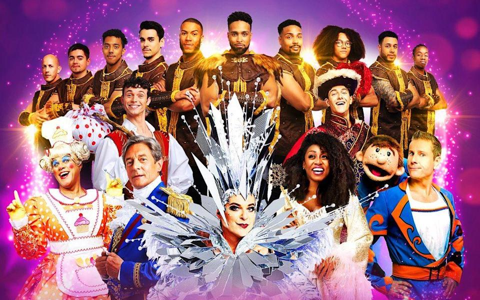 Pantoland is opening at the London Palladium this December - Paul Coltas/London Palladium