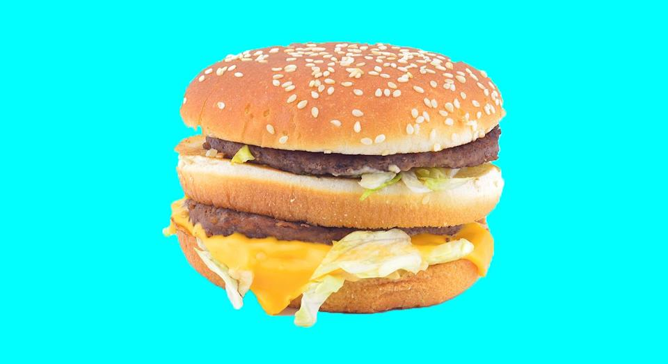 McDonald's are giving away free cheeseburgers for Blue Monday. [Photo: Getty]