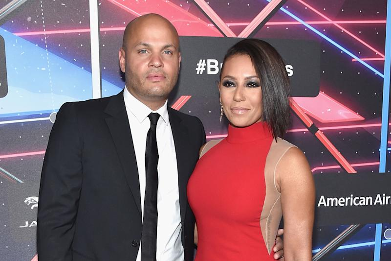 All over: Stephen Belafonte and Mel B have filed for divorce after 10 years: Mike Windle/Getty Images