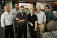 <p>Most films about journalists either make them out to be scumbags (often quite accurate), or genius saints. This story about The Boston Globes' catholic sex abuse expose pitched it correctly; you generally get the story by sheer, bloody-minded, often boring hard work. </p>