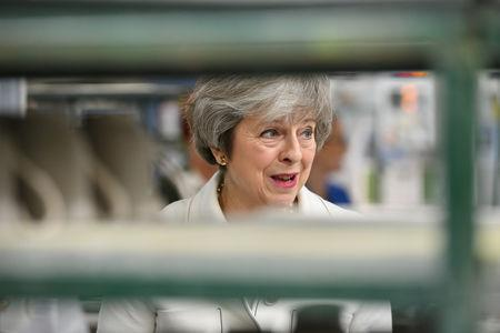 Theresa May visit to Stoke-on-Trent