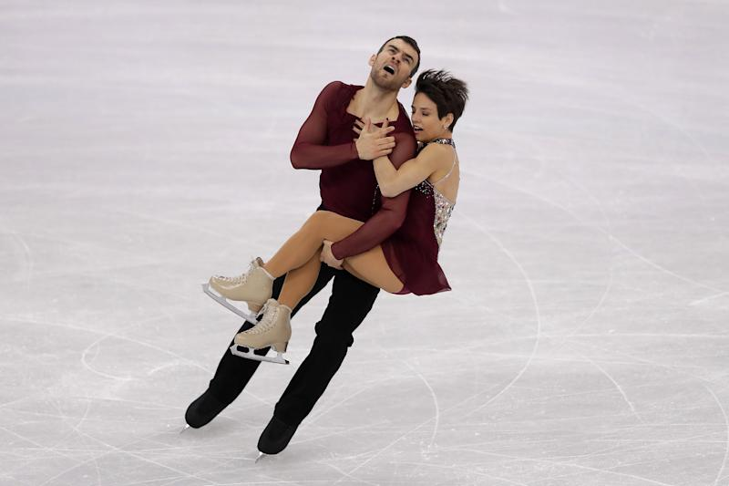 Eric Radford takes gold and Adam Rippon bronze in team skating