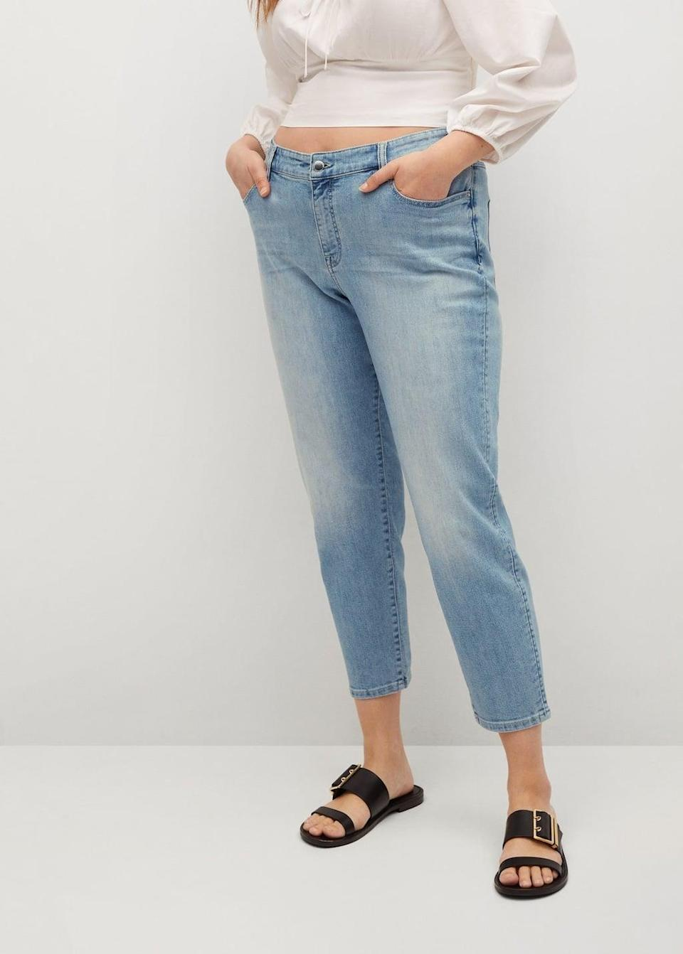 <p><span>Violeta by Mango's Relaxed Claudia Jeans</span> ($80) slouch just right.</p>