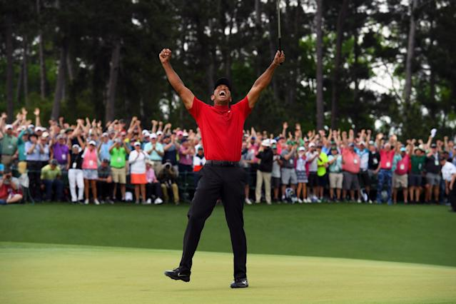Tiger Woods' 1997 Masters win was a seismic shift for every corner in the golf industry; Sunday's comeback victory may mean more for the marketing of golf