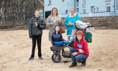 Tenby residents feel mixed emotions about tourists' return