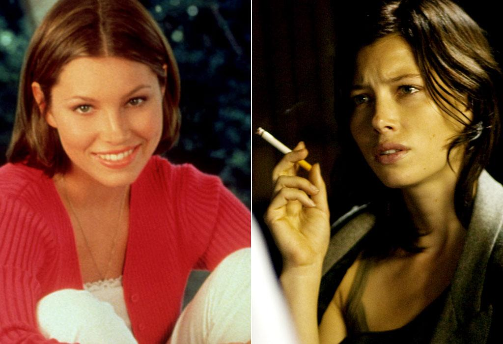 Jessica Biel 7th heaven/ Powder Blue