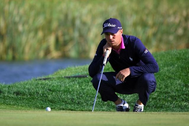 'Very easy 63': Justin Thomas (AFP Photo/JUNG Yeon-Je)