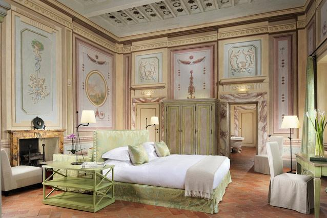 Deluxe Suite at Castello Del Nero Hotel & Spa, Italy