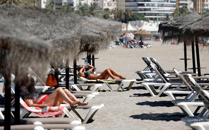 British holidaymakers are banking on a holiday from October onwards - Getty