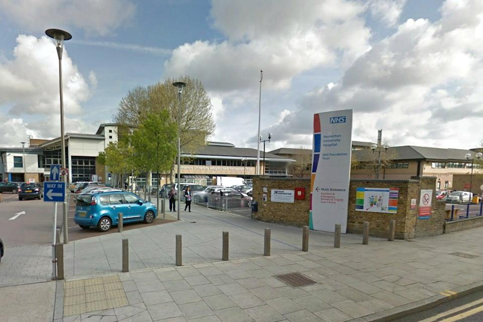 <p>The assault took place in Homerton Hospital</p> (Google Maps)