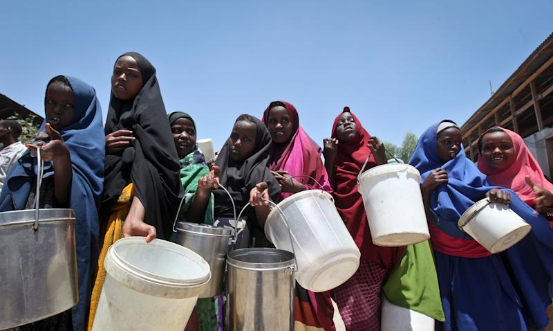 Somalia Says 110 Dead From Hunger in Past 48 Hours Because of Drought