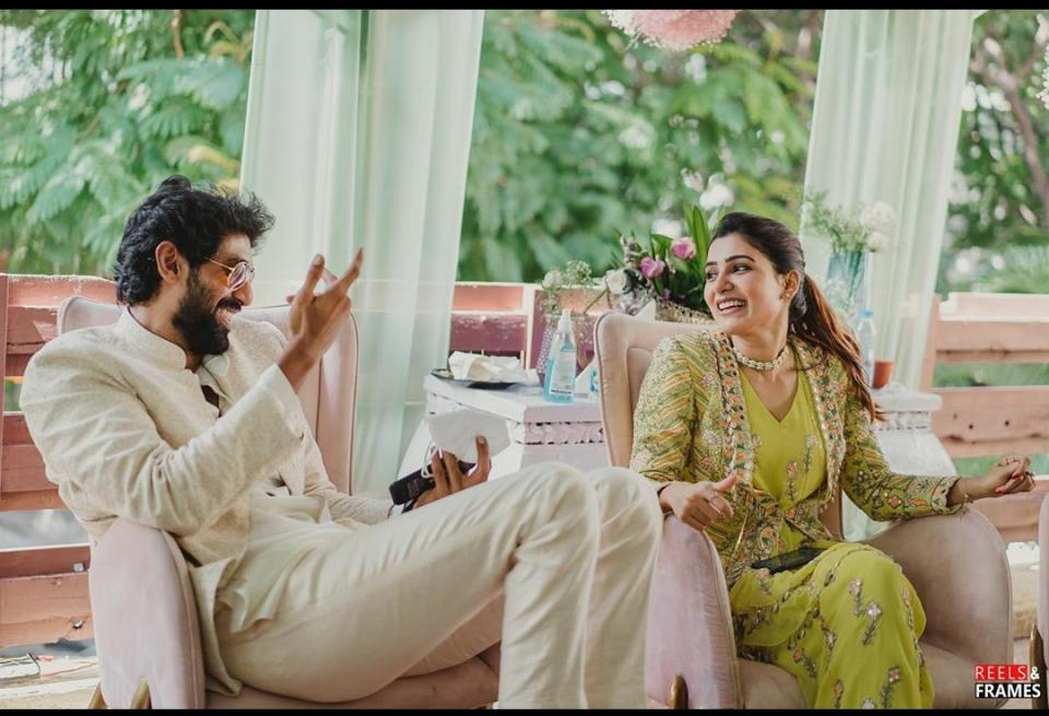 Samantha Akkineni who is family was present for every ceremony.
