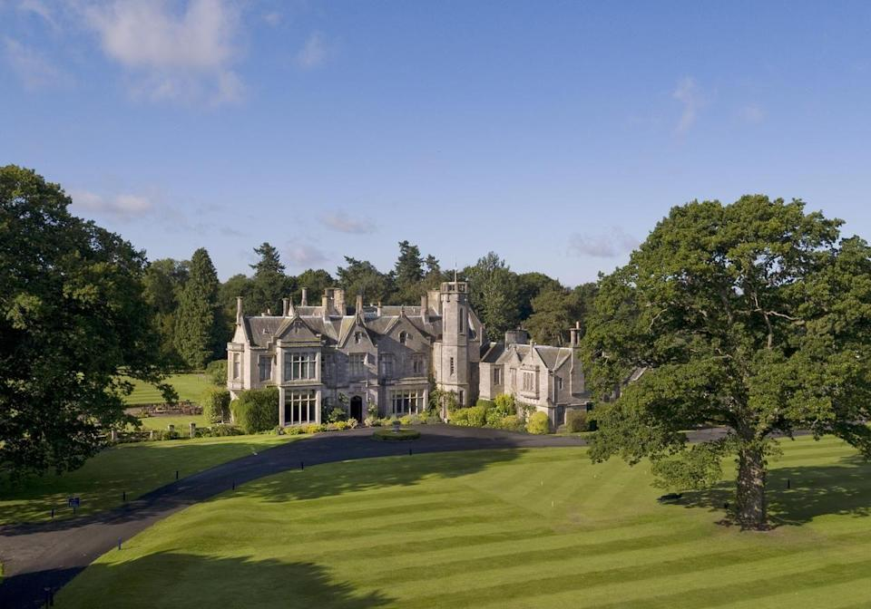"<p>Live the high life in the beautiful Scottish Borders - just an hour from Edinburgh - at a country manor house. You can indulge in a comprehensive range of sporting pursuits, from clay pigeon shooting and archery to tomahawk throwing and fly fishing, as well as making the most of outstanding scenic walks on your doorstep.</p><p><strong>Where to stay: </strong>The <a href=""https://go.redirectingat.com?id=127X1599956&url=https%3A%2F%2Fwww.booking.com%2Fhotel%2Fgb%2Fschloss-roxburghe-kelso123.en-gb.html%3Faid%3D2070935%26label%3Dscotland-staycations&sref=https%3A%2F%2Fwww.countryliving.com%2Fuk%2Ftravel-ideas%2Fstaycation-uk%2Fg34614070%2Fscotland-staycation%2F"" rel=""nofollow noopener"" target=""_blank"" data-ylk=""slk:Schloss Roxburghe Hotel"" class=""link rapid-noclick-resp"">Schloss Roxburghe Hotel</a> is a historic manor house formerly owned by The Duke of Roxburghe. It boasts 20 rooms with Scottish-inspired interiors, a welcoming bar and a restaurant serving Scottish cuisine with a French twist. It offers all the country pursuits listed above (and more) on site.</p><p><a class=""link rapid-noclick-resp"" href=""https://go.redirectingat.com?id=127X1599956&url=https%3A%2F%2Fwww.booking.com%2Fhotel%2Fgb%2Fschloss-roxburghe-kelso123.en-gb.html%3Faid%3D2070935%26label%3Dscotland-staycations&sref=https%3A%2F%2Fwww.countryliving.com%2Fuk%2Ftravel-ideas%2Fstaycation-uk%2Fg34614070%2Fscotland-staycation%2F"" rel=""nofollow noopener"" target=""_blank"" data-ylk=""slk:CHECK AVAILABILITY"">CHECK AVAILABILITY</a></p>"