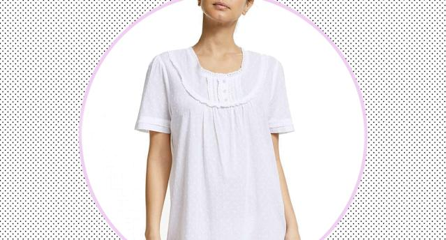 This cool, cotton nightie is selling fast. (John Lewis & Partners)