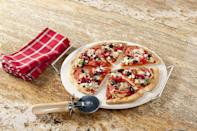 <p>Make your own brick-oven pizza at home with this <span>Nordic Ware Pizza Stone Set</span> ($11, originally $18).</p>