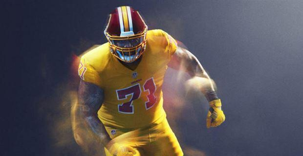 "One man's gold is another man's trash ""Color Rush"" uniform. (Instagram)"