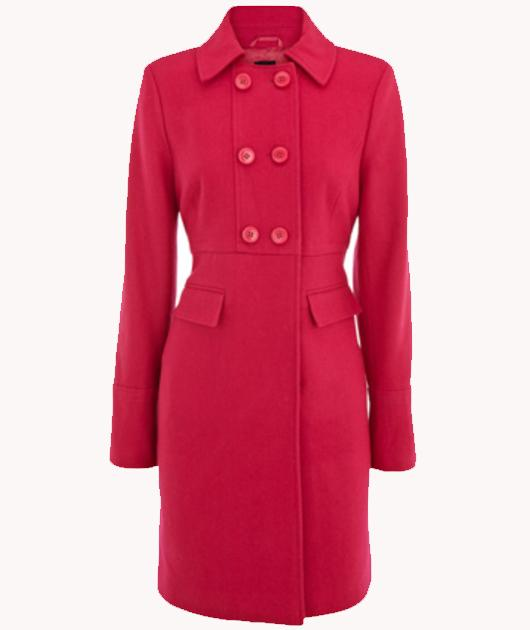 The short collar look is one we'll all be jumping on following Kate's coat. Be the first trial the look with this coat.   £70, oasis-stores.com