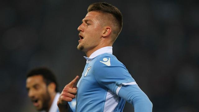 Sergej Milinkovic-Savic has ended talk of a move to Manchester United or Juventus by signing a new contract with Lazio.