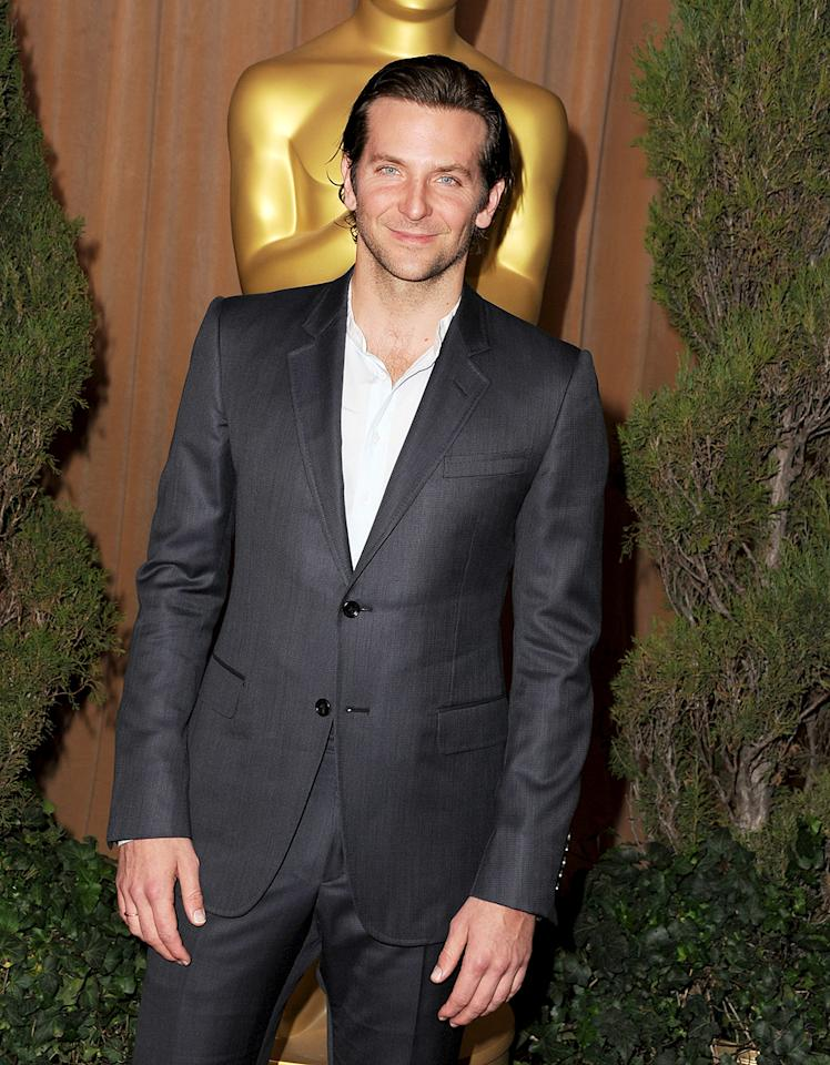 Bradley Cooper attends the 85th Academy Awards Nominations Luncheon at The Beverly Hilton Hotel on February 4, 2013 in Beverly Hills, California.  (Photo by Steve Granitz/WireImage)