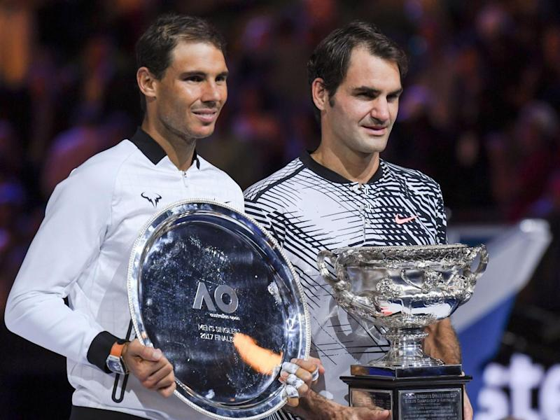 Federer won when the pair met in the final of the Australian Open (Getty)