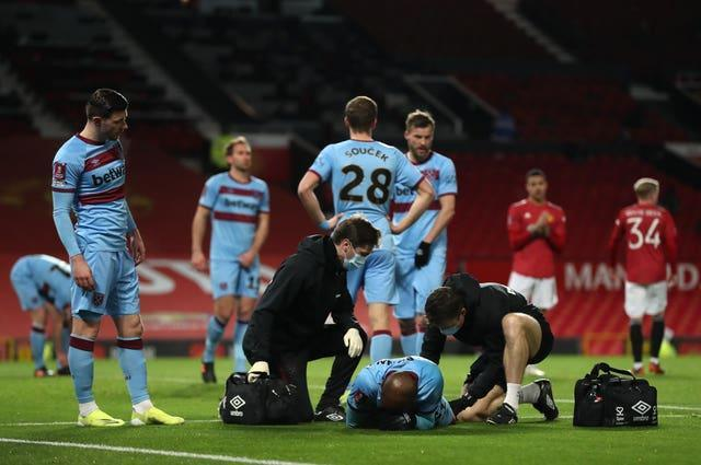 Manchester United v West Ham United – Emirates FA Cup – Fifth Round – Old Trafford