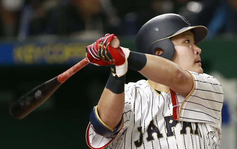 Rays finalizing deal with Japanese OF Tsutsugo