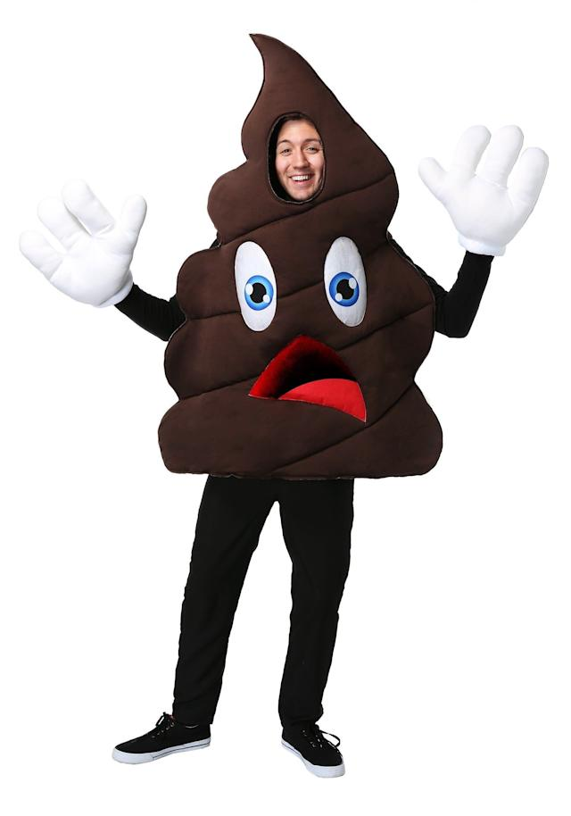 Sure <span>this costume is the epitome of crap,</span> but there isn't a person at the Halloween party who won't want to take a selfie withthe person who wears it. Of course, some may not want to stand too close.