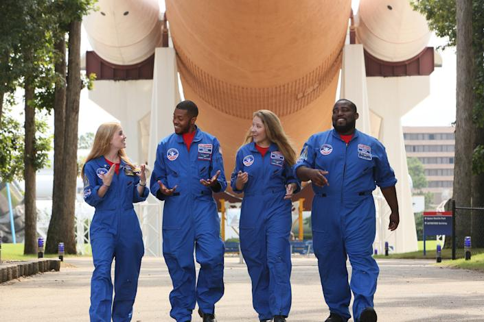 The U.S. Space and Rocket Center and Space Camp in Huntsville, Ala., offer training and various hands-on exhibits.