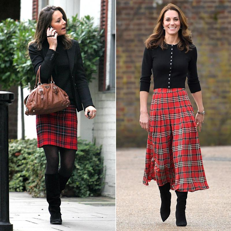 Kate Middleton Wore a Nearly Identical Version of Her Perfect Christmas  Outfit 10 Years Ago! - Kate Middleton Wore A Nearly Identical Version Of Her Perfect