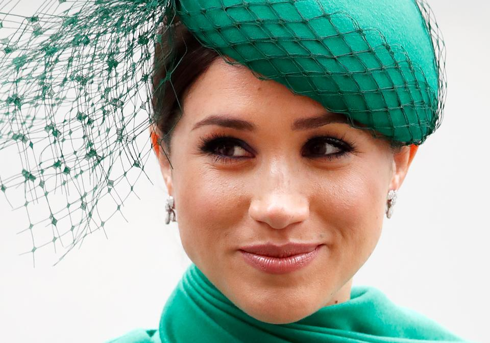 It's time for a royal glow up with 25% off some of the Duchess of Sussex's favourite beauty brands (via Getty Images)