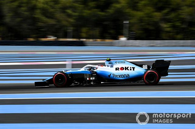 "Le Castellet: Robert Kubica (Williams) <span class=""copyright"">Mark Sutton / Sutton Images</span>"