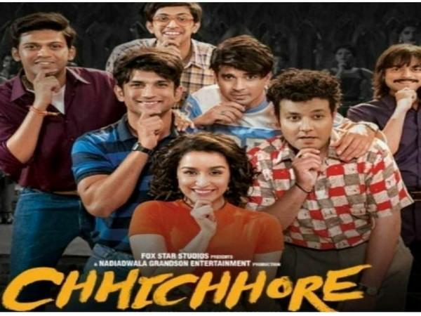 Poster of 'Chhichhore' (Image source: Instagram)