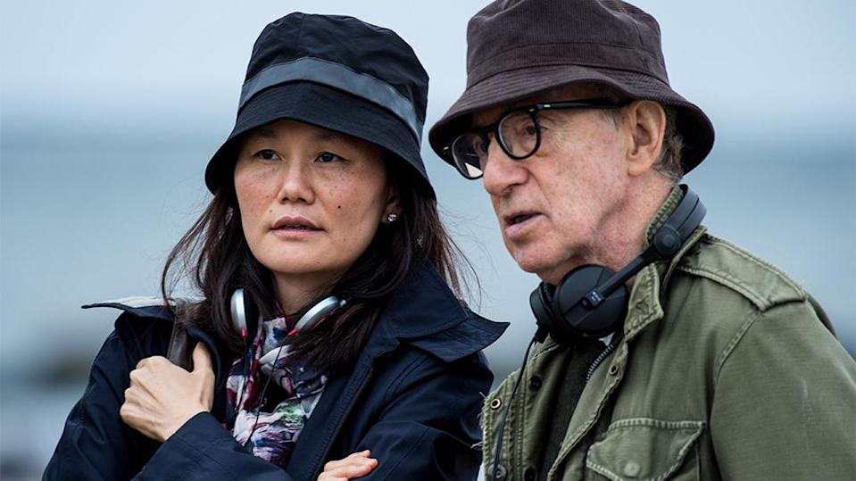 Soon-Yi Previn and Woody Allen (Credit: Rex)