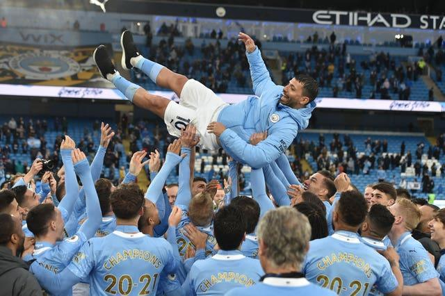 It was also farewell to Sergio Aguero after he signed off from his time at Manchester City with two more goals