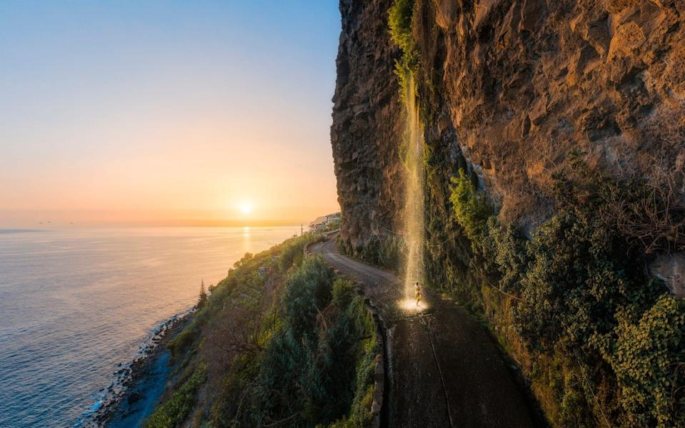 The island is peppered with waterfalls - Getty