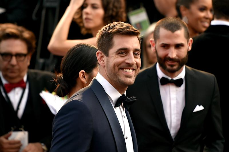 Aaron Rodgers Just Served as Groomsmen at a Pal's Wedding